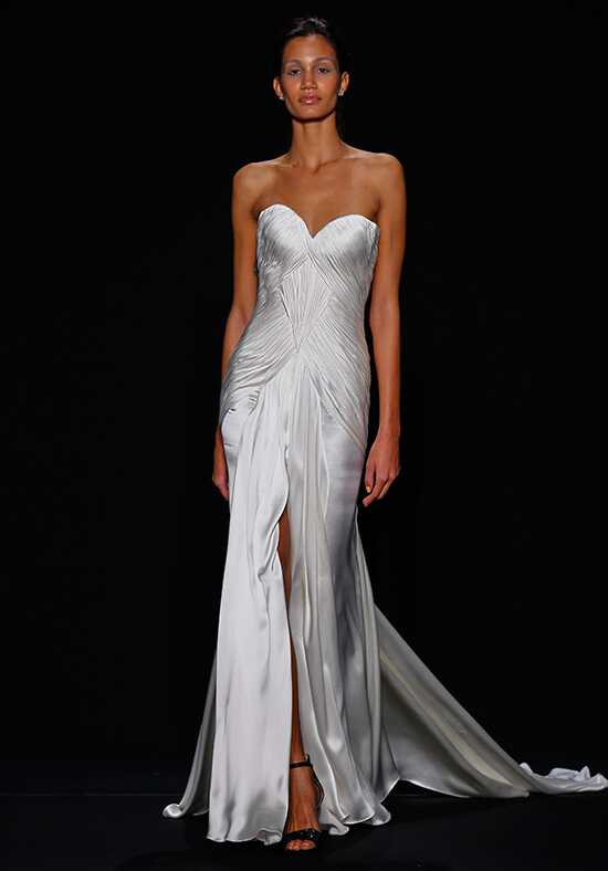 Mark Zunino for Kleinfeld 156 Sheath Wedding Dress