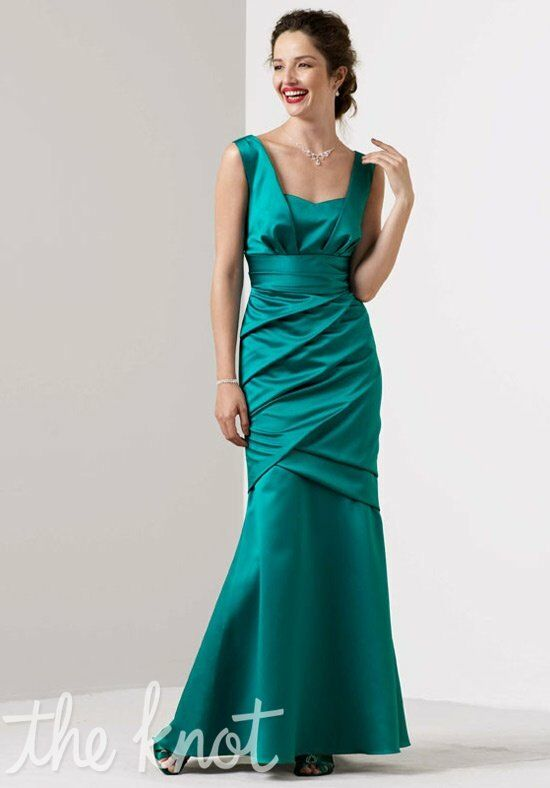 David's Bridal Collection 85060 V-Neck Bridesmaid Dress