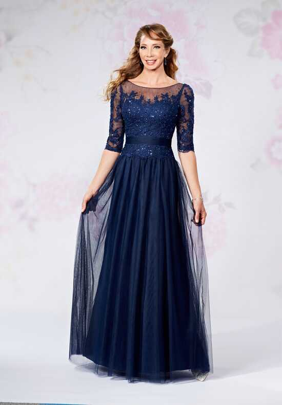 Beautiful Mothers by Mary's M2727 Blue Mother Of The Bride Dress