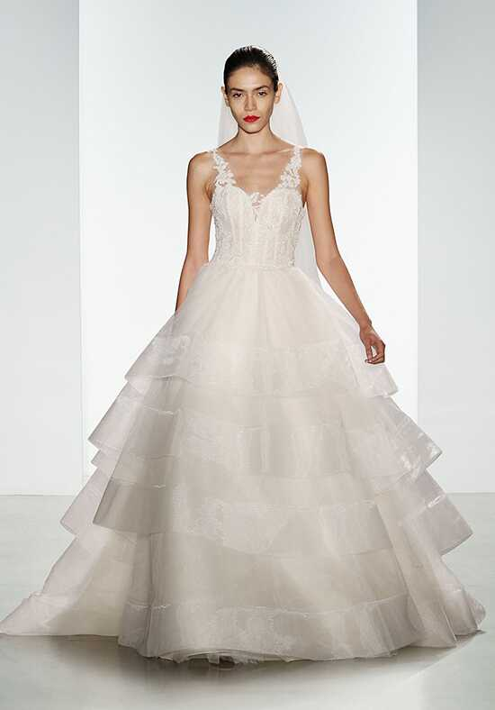 Kenneth Pool Suri Ball Gown Wedding Dress