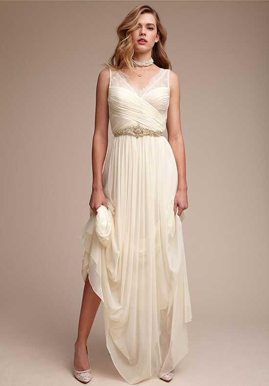 BHLDN Fleur A-Line Wedding Dress