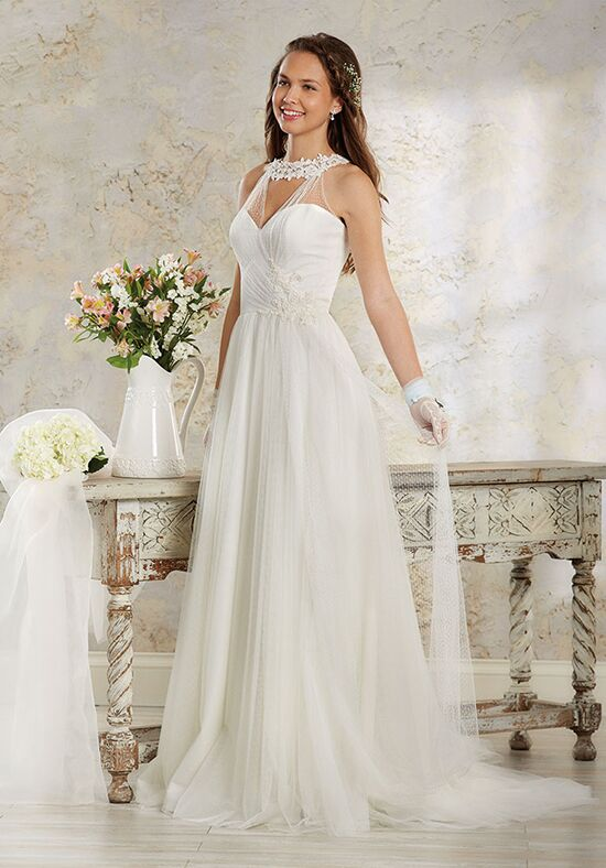 Angelo modern vintage bridal collection 8550 wedding dress the knot