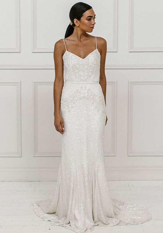 KAREN WILLIS HOLMES Darcy Mermaid Wedding Dress