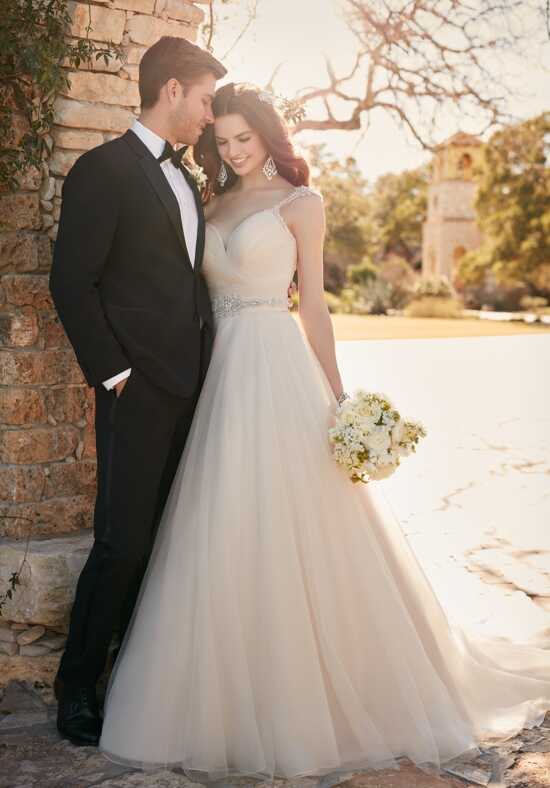 Essense of Australia D2175 A-Line Wedding Dress