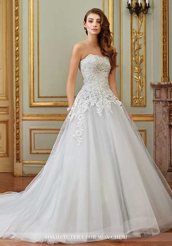 David Tutera for Mon Cheri 117270 Sonia Ball Gown Wedding Dress