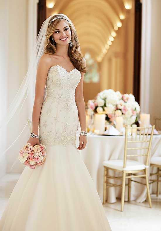 Stella York 6107 Mermaid Wedding Dress