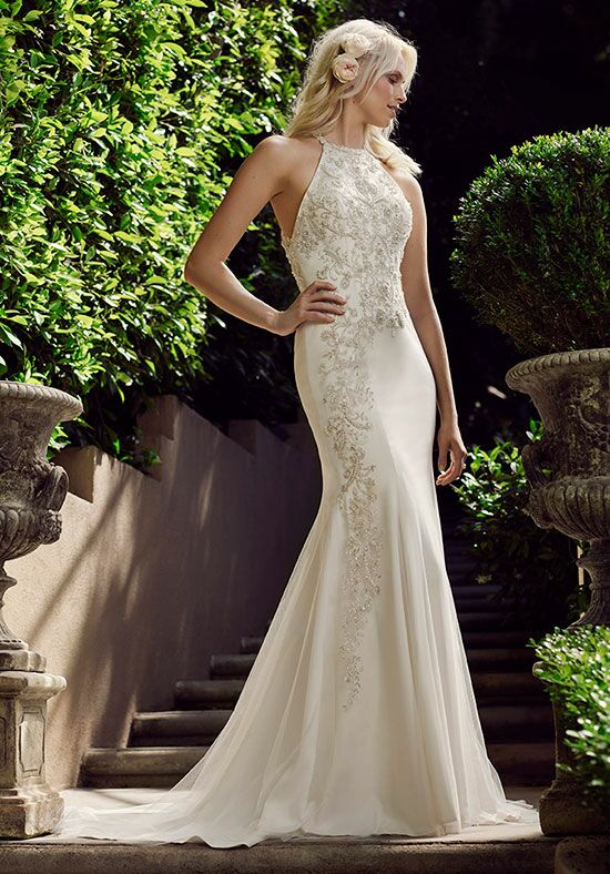 Casablanca Bridal 2243 Camellia Sheath Wedding Dress