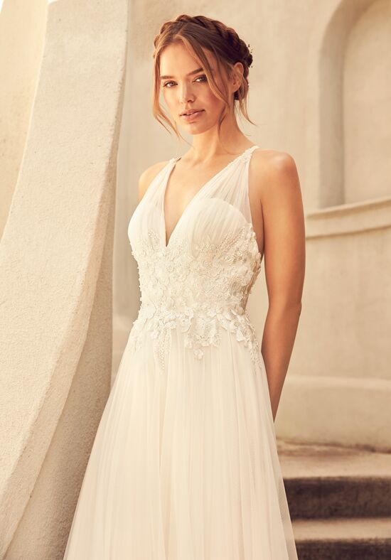 Paloma Blanca 4782 A-Line Wedding Dress