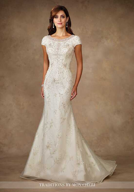 Modest by Mon Cheri TR11706 Mermaid Wedding Dress