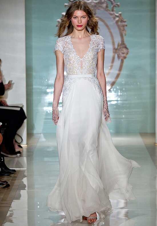 Reem Acra Gorgeous Girl A-Line Wedding Dress
