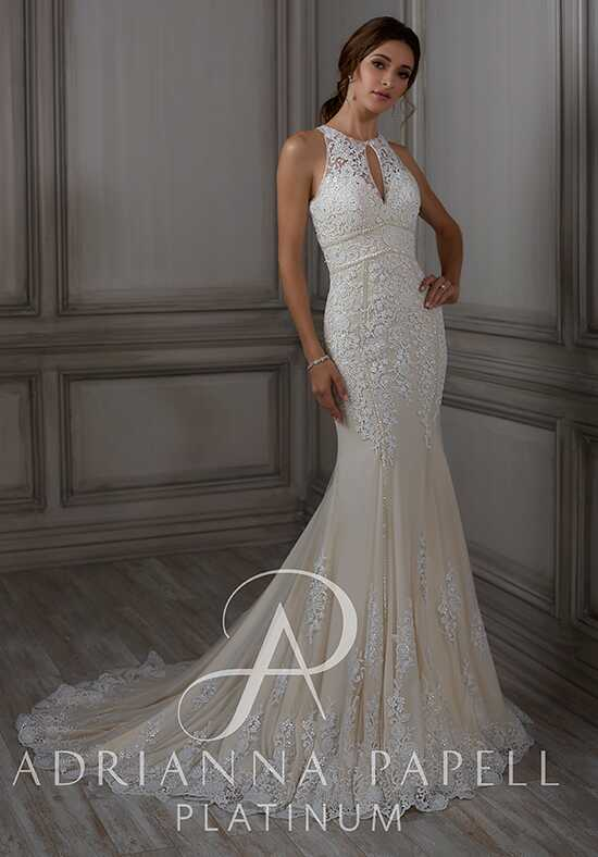 Adrianna Papell Platinum Ada Mermaid Wedding Dress