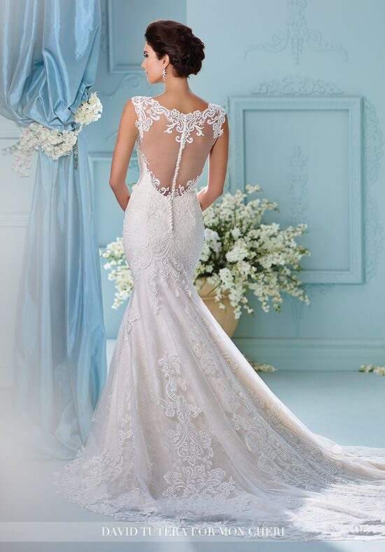 David Tutera For Mon Cheri 216242 Afina Mermaid Wedding Dress
