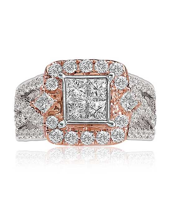 Rogers & Hollands® Vintage Princess, Round Cut Engagement Ring