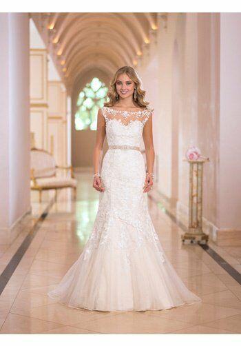Stella york 5932 wedding dress the knot