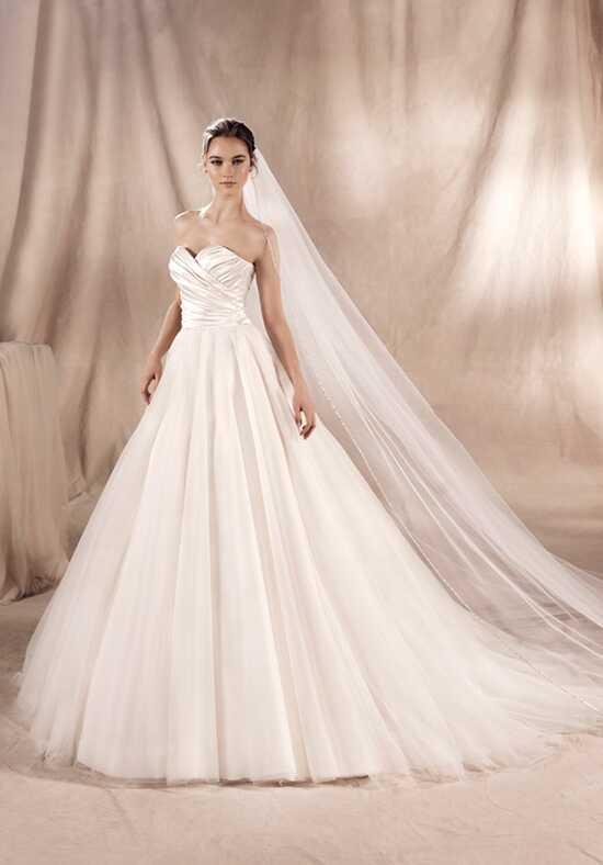 WHITE ONE SIANY Ball Gown Wedding Dress