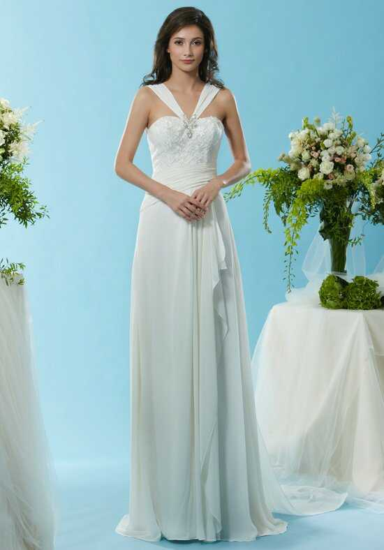 Eden Bridals SL070 A-Line Wedding Dress