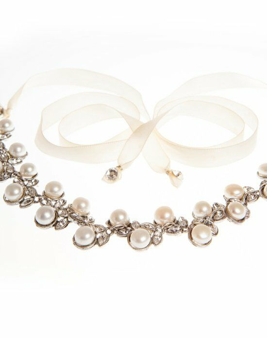 MEG Jewelry Marilyn headband and necklace Wedding Necklace photo