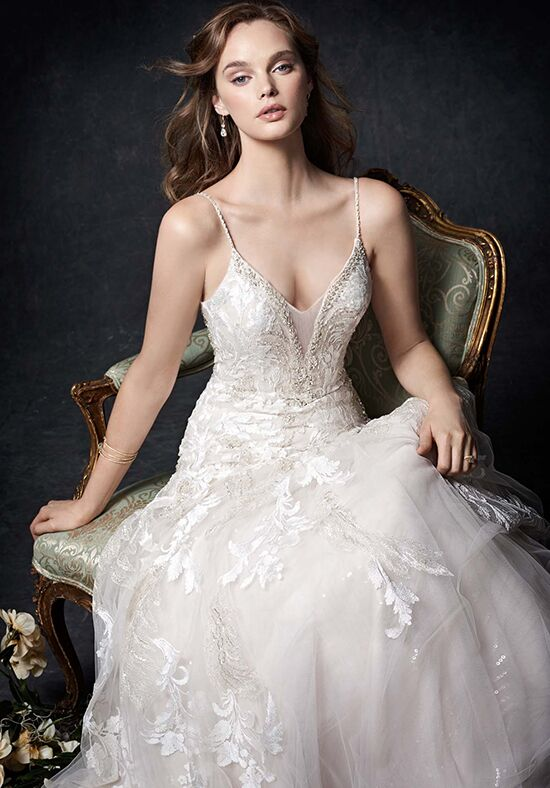 Kenneth Winston 1758 A-Line Wedding Dress