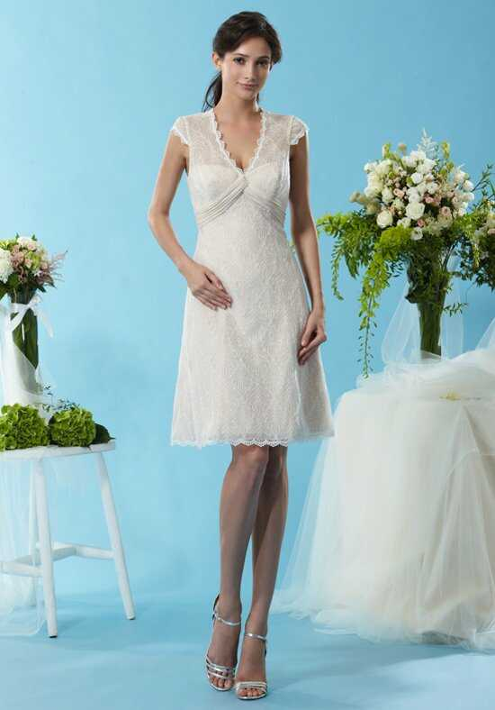 Eden Bridesmaids 7449 V-Neck Bridesmaid Dress