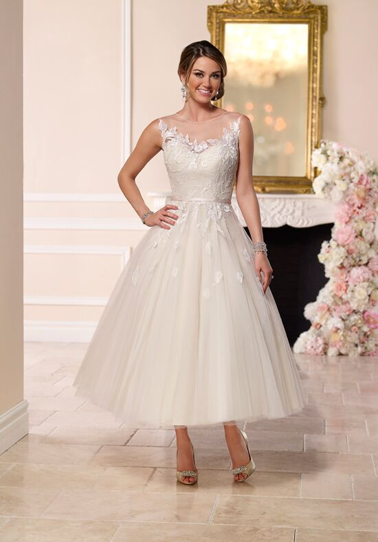 Cheap Wedding Dresses Tea Length