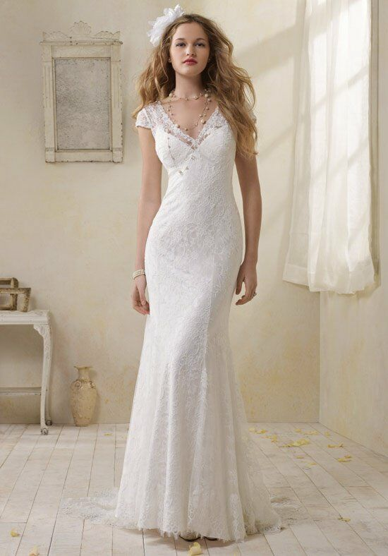 Alfred Angelo Signature Bridal Collection 8501 Sheath Wedding Dress