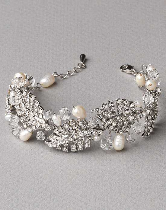 USABride Botanical Leaf & Pearl Bracelet JB-4821 Wedding Bracelets photo