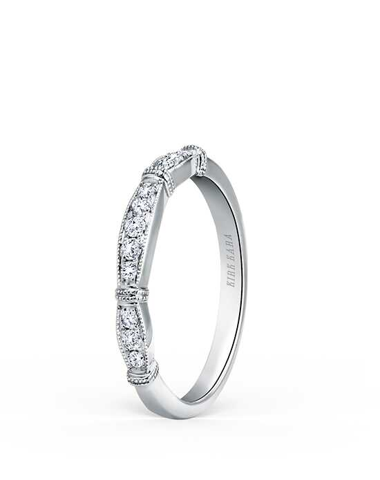Kirk Kara Stella Collection K196-B White Gold Wedding Ring