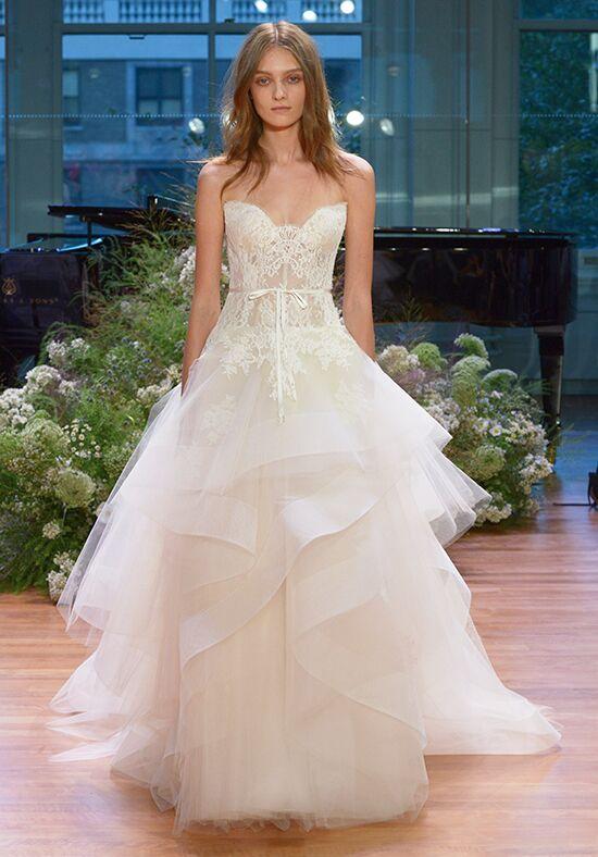 Monique Lhuillier Tresor Wedding Dress - The Knot