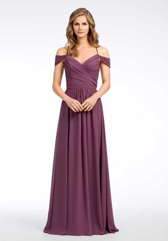 Hayley Paige Occasions 5663 V-Neck Bridesmaid Dress