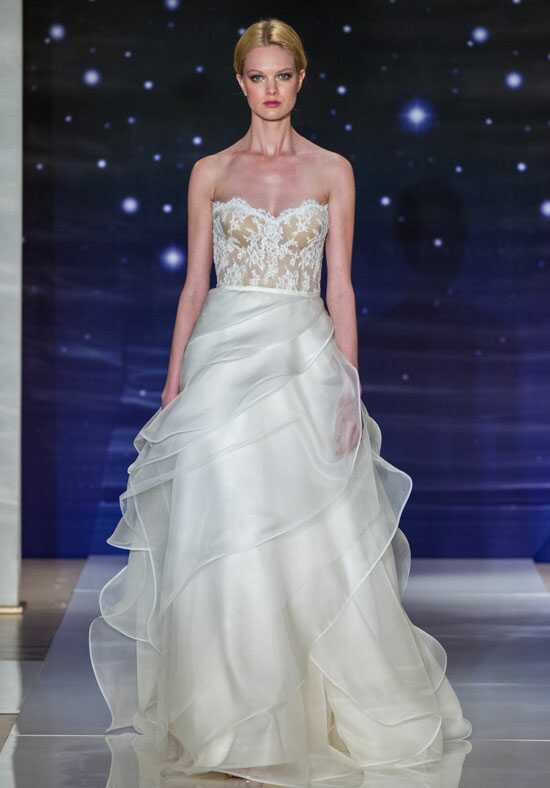 Reem Acra She's In Love Ball Gown Wedding Dress