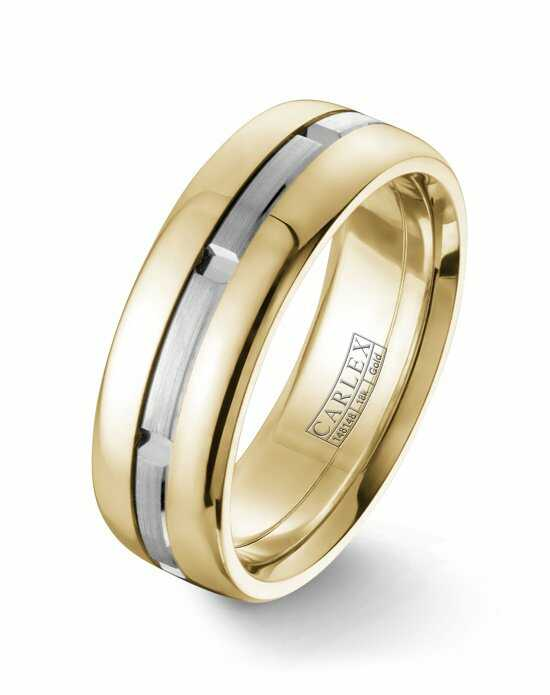 Carlex CX1-0003WY Gold Wedding Ring