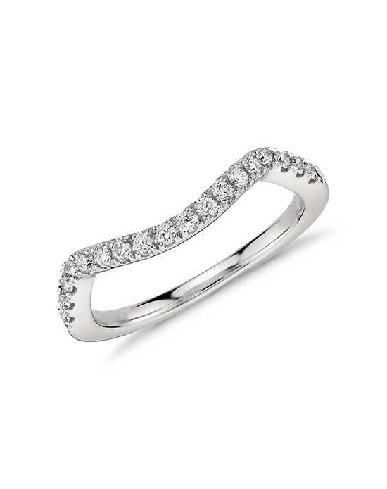 Monique Lhuillier Fine Jewelry Pavé Diamond Ring (1/5 ct. tw.) Platinum Wedding Ring