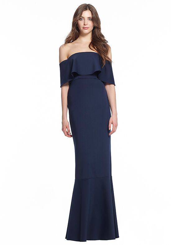 Monique Lhuillier Bridesmaids 450500 Off the Shoulder Bridesmaid Dress