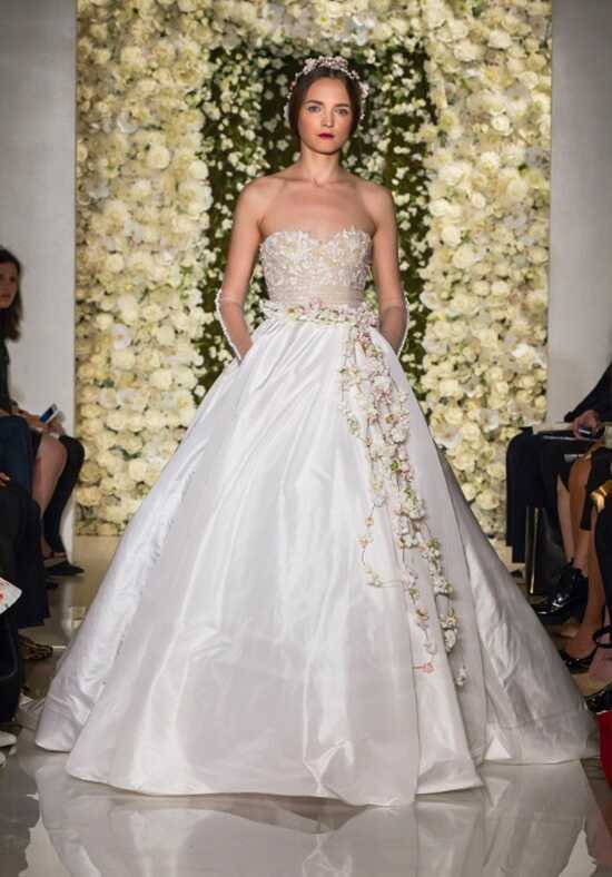 Reem Acra I'm Awesome Ball Gown Wedding Dress