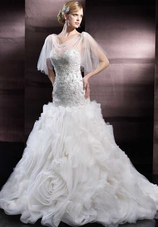 Moonlight Couture H1250 Mermaid Wedding Dress
