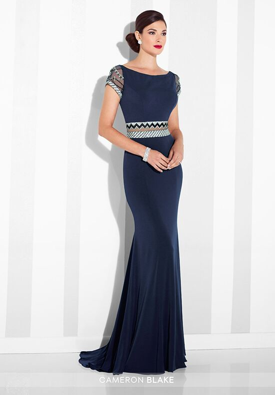 Cameron Blake 117624 Blue Mother Of The Bride Dress