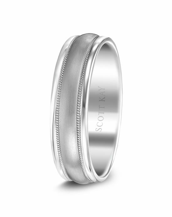Scott Kay C0224C65-6 Platinum Wedding Ring