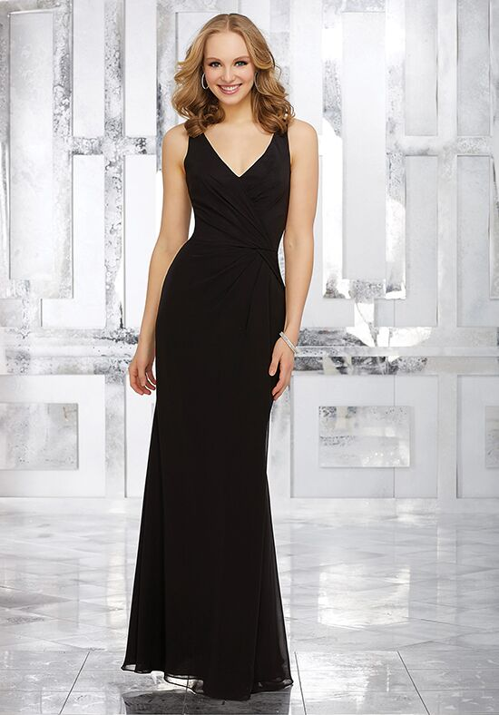 Morilee by Madeline Gardner Bridesmaids Style 21538 V-Neck Bridesmaid Dress