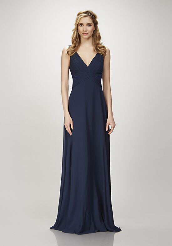 THEIA Bridesmaids Clary V-Neck Bridesmaid Dress