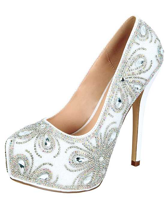 De Blossom Collection Kinko-140 White Shoe