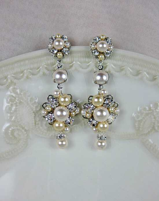 Everything Angelic Angelica Chandelier Earrings - e353 Wedding Earring photo
