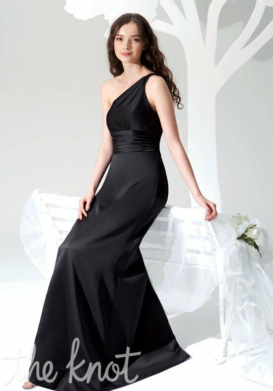 B2 by Jasmine B2082 One-Shoulder Bridesmaid Dress