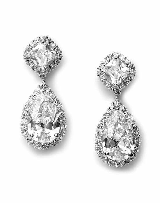 USABride Allure CZ Wedding Earrings JE-1142 Wedding Earring photo