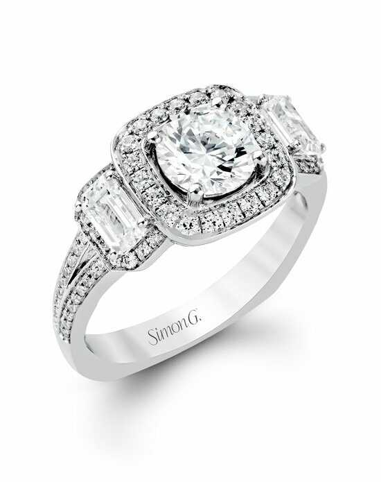 Simon G. Jewelry TR446 Engagement Ring photo