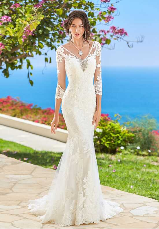 KITTYCHEN Couture ROXANNE, H1627 Sheath Wedding Dress