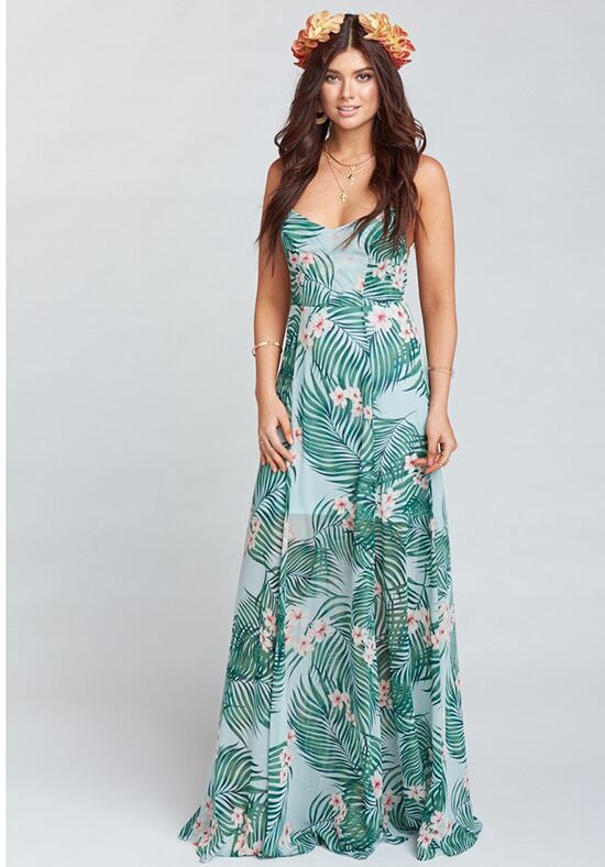 Show Me Your Mumu Godshaw Goddess Gown - Hanalei Dream Scoop Bridesmaid Dress