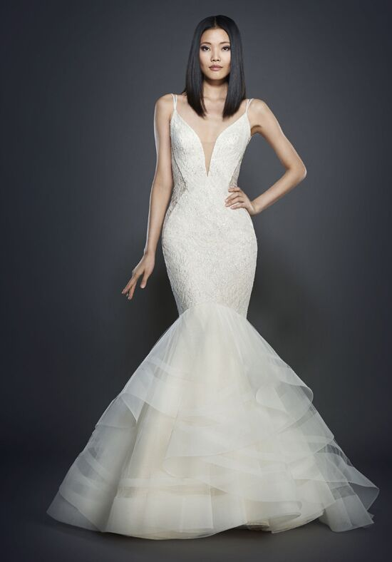 Lazaro 3704 Mermaid Wedding Dress