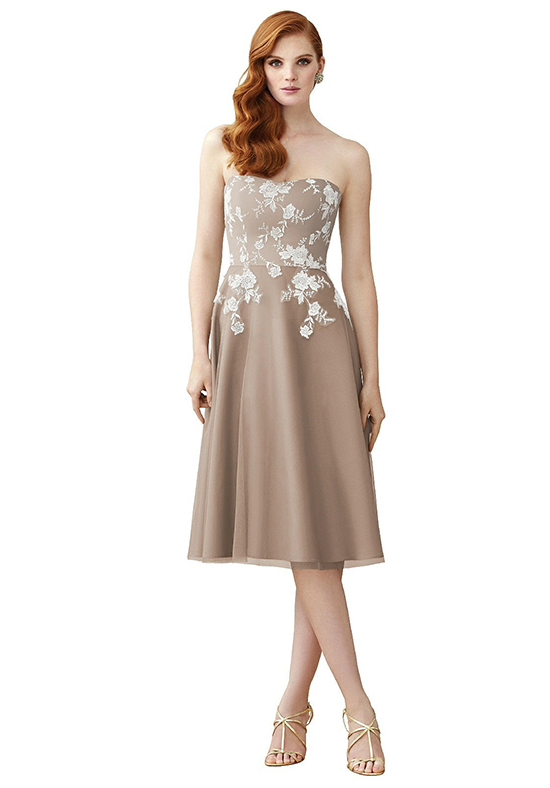 Dessy Collection 2949 Strapless Bridesmaid Dress