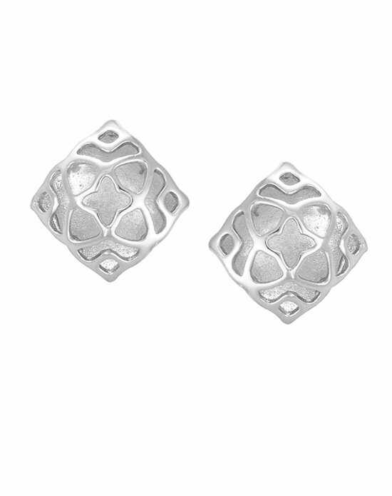 Kendra Scott Tima Stud Earrings in Silver Wedding Earring photo
