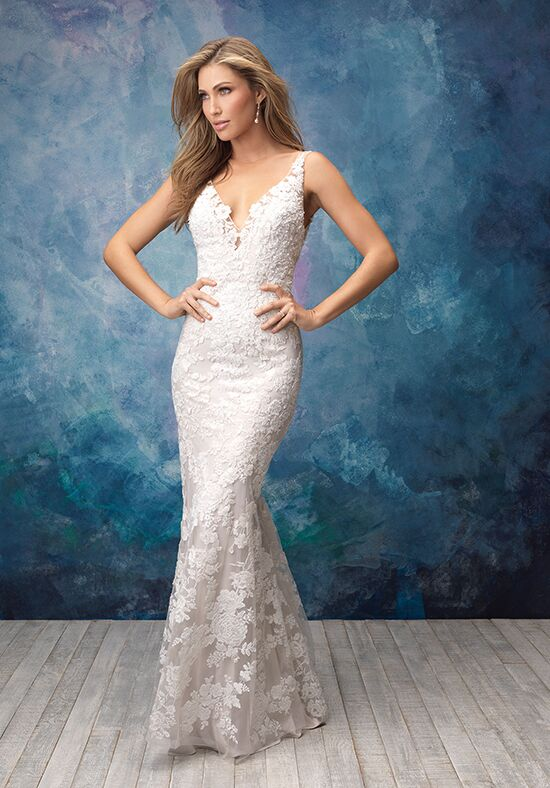 Allure Bridals 9556 Sheath Wedding Dress